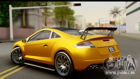 GTA 5 Maibatsu Penumbra für GTA San Andreas linke Ansicht