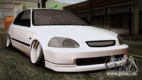 Honda Civic TnTuning für GTA San Andreas