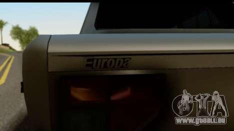 Fiat 128 für GTA San Andreas zurück linke Ansicht