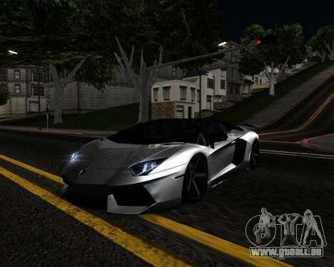 HDX ENB Series pour GTA San Andreas quatrième écran