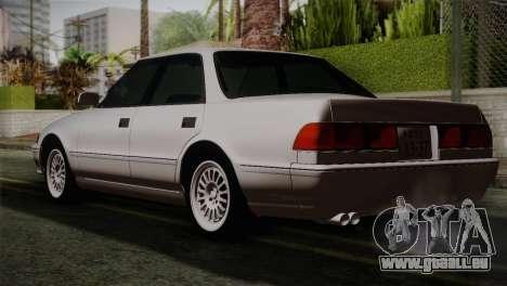 Toyota Mark GX81 pour GTA San Andreas laissé vue