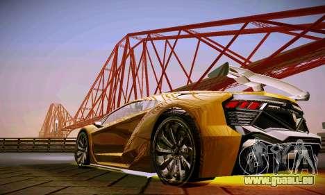 ANCG ENB pour de faibles PC pour GTA San Andreas cinquième écran