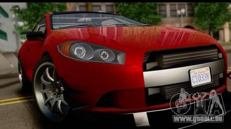 GTA 5 Maibatsu Penumbra IVF für GTA San Andreas Rückansicht