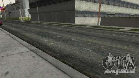 Des routes et de la végétation de Los Santos pour GTA San Andreas troisième écran