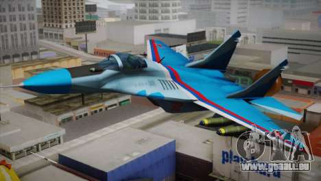 MIG-29 Russian Falcon pour GTA San Andreas