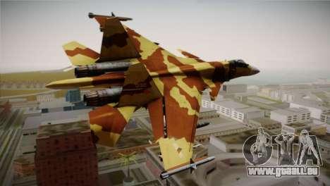SU-37 Terminator für GTA San Andreas linke Ansicht