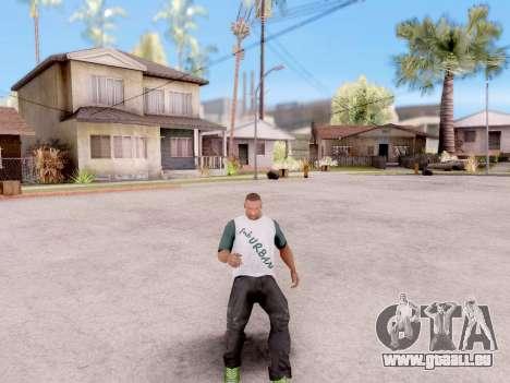 Real-Animationen von GTA 5 für GTA San Andreas