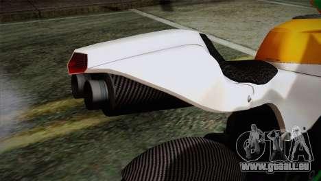 GTA 5 Bati Indian für GTA San Andreas Rückansicht
