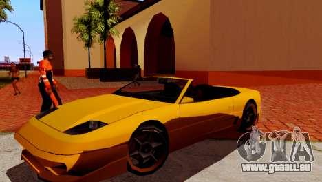 DLC garage de GTA en ligne de la marque de trans pour GTA San Andreas quatrième écran