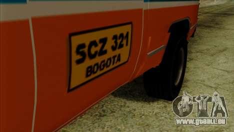 Chevrolet Custom Deluxe für GTA San Andreas rechten Ansicht