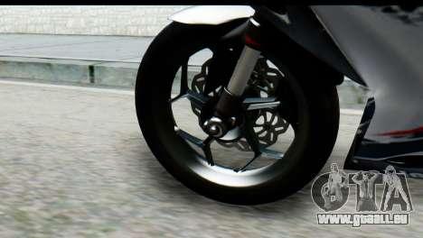 Kawasaki Ninja 250 Fi pour GTA San Andreas vue de droite