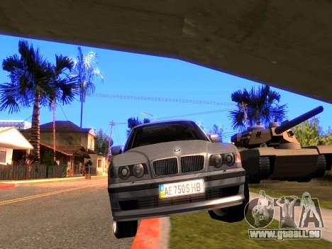 BMW 740i BL pour GTA San Andreas