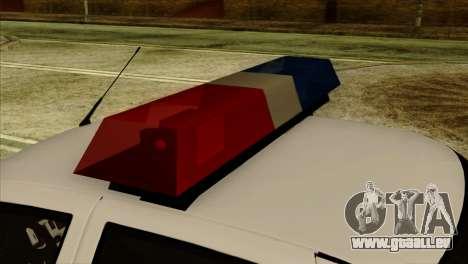 Lada Priora 2170 Polizei DPS Moskau für GTA San Andreas rechten Ansicht
