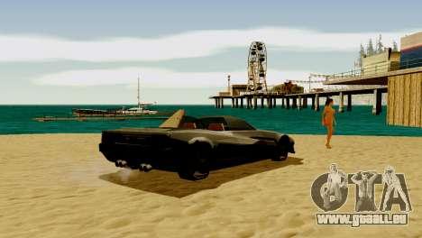DLC garage de GTA en ligne de la marque de trans pour GTA San Andreas cinquième écran