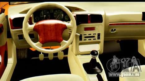 Ikco Samand Tuning pour GTA San Andreas vue de droite