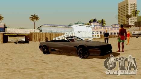 DLC-garage von GTA online-Marke neue transport für GTA San Andreas achten Screenshot