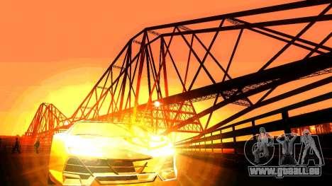 ANCG ENB pour de faibles PC pour GTA San Andreas quatrième écran