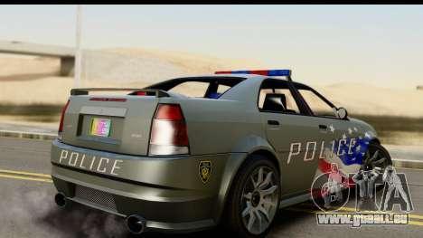 EFLC TBoGT Albany Police Stinger SA Mobile für GTA San Andreas linke Ansicht