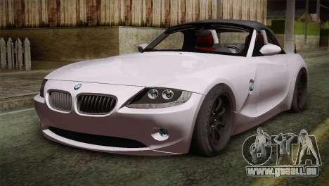 BMW Z4 V10 IVF für GTA San Andreas
