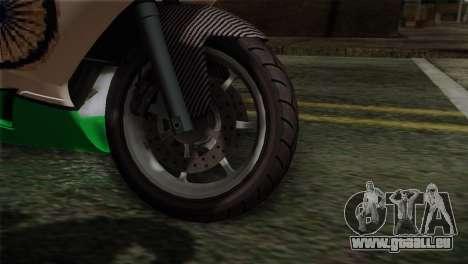 GTA 5 Bati Indian für GTA San Andreas zurück linke Ansicht