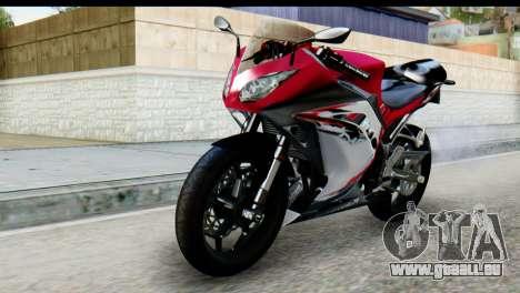 Kawasaki Ninja 250 Fi für GTA San Andreas