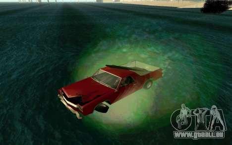 Cars Water für GTA San Andreas