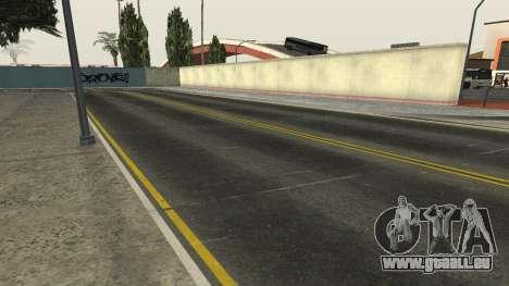 Des routes et de la végétation de Los Santos pour GTA San Andreas