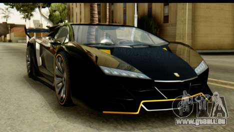 GTA 5 Pegassi Zentorno v2 SA Mobile für GTA San Andreas