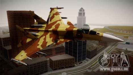 SU-37 Terminator für GTA San Andreas