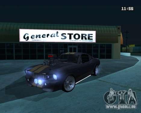 Shelby GT500 Eleanor für GTA San Andreas