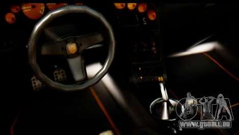 GTA 5 Pegassi Zentorno v2 pour GTA San Andreas vue arrière