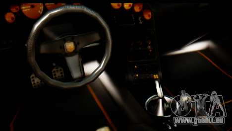 GTA 5 Pegassi Zentorno v2 für GTA San Andreas Rückansicht