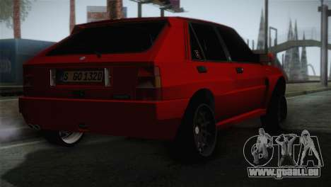 Lancia Delta EVO pour GTA San Andreas laissé vue