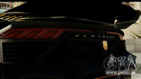 GTA 5 Pegassi Zentorno v2 SA Mobile pour GTA San Andreas vue de droite
