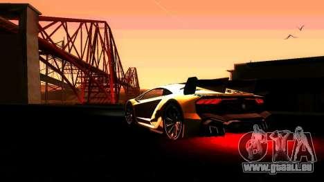 ANCG ENB pour de faibles PC pour GTA San Andreas troisième écran