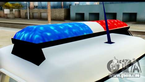 Chevrolet C10 Patrulla pour GTA San Andreas vue de droite
