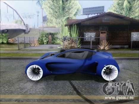 Mercedes-Benz Biome für GTA San Andreas zurück linke Ansicht