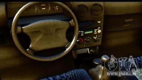 Ford Festiva Tuning für GTA San Andreas rechten Ansicht