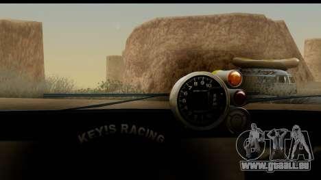 Uranus JDM pour GTA San Andreas sur la vue arrière gauche