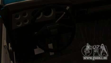 Chevrolet Custom Deluxe für GTA San Andreas Rückansicht