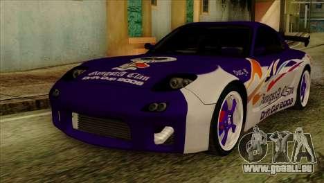 Mazda RX-7 Gangsta Club pour GTA San Andreas