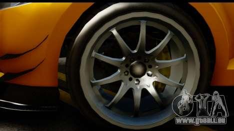 GTA 5 Maibatsu Penumbra pour GTA San Andreas vue arrière