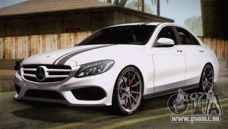 Mercedes-Benz C250 AMG Edition 2014 EU Plate pour GTA San Andreas