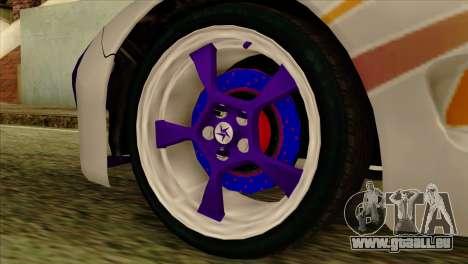Mazda RX-7 Gangsta Club für GTA San Andreas rechten Ansicht