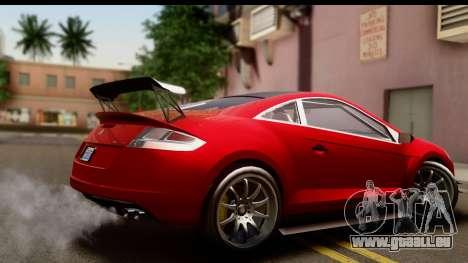 GTA 5 Maibatsu Penumbra IVF für GTA San Andreas linke Ansicht