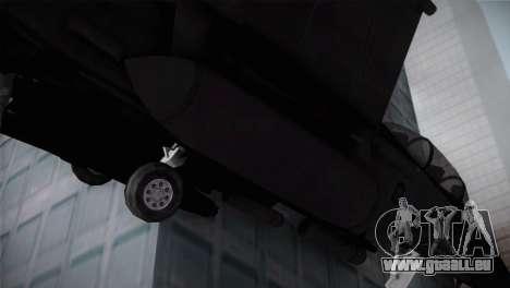 F-15 (Battlefield 2) pour GTA San Andreas vue de droite