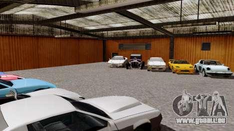DLC garage de GTA en ligne de la marque de trans pour GTA San Andreas troisième écran