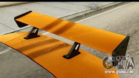 Ikco Samand Tuning pour GTA San Andreas sur la vue arrière gauche