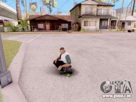 Réel des animations à partir de GTA 5 pour GTA San Andreas troisième écran