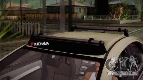 Mitsubishi Lancer Evolution X pour GTA San Andreas vue de droite